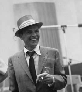 Frank Sinatra at a Capitol Records recording session, c. 1954 © 1978 Sid Avery - Image 0337_2115