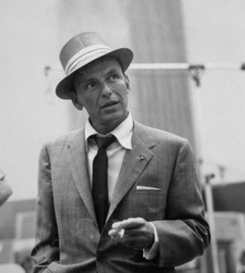 Frank Sinatra at a Capitol Records recording session, c. 1954. © 1978 Sid Avery - Image 0337_2116