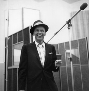 Frank Sinatra at a Capitol Records recording session, c. 1954 © 1978 Sid Avery - Image 0337_2126