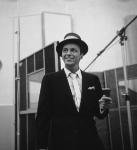Frank Sinatra at a Capitol Records recording session, c. 1954 © 1978 Sid Avery - Image 0337_2127