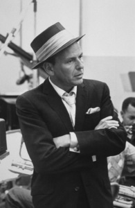 Frank Sinatra at a Capitol Records recording session, c. 1954 © 1978 Sid Avery - Image 0337_2128