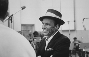 Frank Sinatra at a Capitol Records recording session, c. 1954 © 1978 Sid Avery - Image 0337_2130
