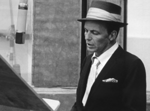Frank Sinatra at a Capitol Records recording session, c. 1954 © 1978 Sid Avery - Image 0337_2133