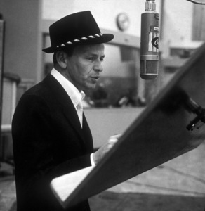 Frank Sinatra at a Capitol Records recording session 1959© 1978 Sid Avery - Image 0337_2175