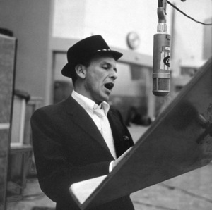 Frank Sinatra at a Capitol Records recording session 1959© 1978 Sid Avery - Image 0337_2176