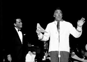 Frank Sinatra on stagewith Peter Lanford, 1961 © 1978 Bernie Abramson - Image 0337_2185