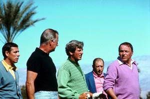 Frank Sinatra golfing with Doug Sand and Spiro Agnew, c. 1975Photo by: Lester Nehamkin - Image 0337_2201