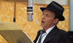 Frank Sinatra at a Capitol Records recording session in Los Angelescirca 1957© 1978 Sid Avery - Image 0337_2203