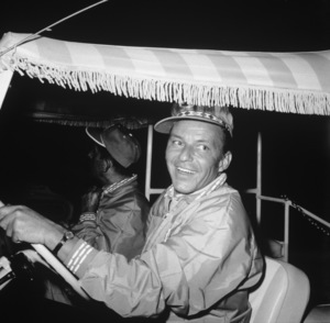 Frank Sinatra at the Canyon Country Club in Palm Springs for The Frank Sinatra Invitational Golf Tournament1963Photo by Lester Nehamkin** G.L. - Image 0337_2205