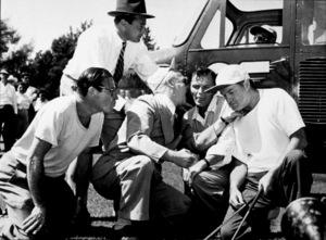 Frank Sinatra wiht Bob Hope (right)c. 1949 - Image 0337_2327