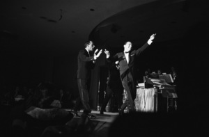 Frank Sinatra acts a bit