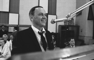 """Frank Sinatra""""September of My Years"""" Recording SessionApril (4) 1965 © 1978 Ed Thrasher - Image 0337_2372"""