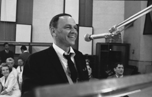 """Frank Sinatra""""September of My Years"""" Recording SessionApril (4) 1965 © 1978 Ed Thrasher - Image 0337_2383"""