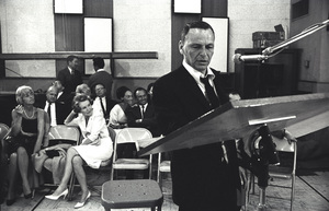 """Frank Sinatra""""September of My Years"""" Recording SessionApril (4) 1965 © 1978 Ed Thrasher - Image 0337_2391"""