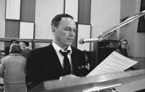 """Frank Sinatra""""September of My Years"""" Recording SessionApril (4) 1965 © 1978 Ed Thrasher - Image 0337_2392"""
