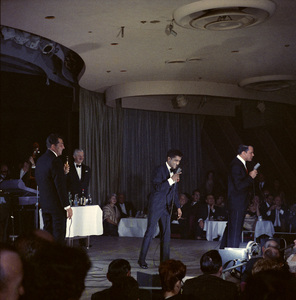 Frank Sinatra, Dean Martin and Sammy Davis Jr. performingcirca 1960 © 1978 Ted Allan - Image 0337_2403