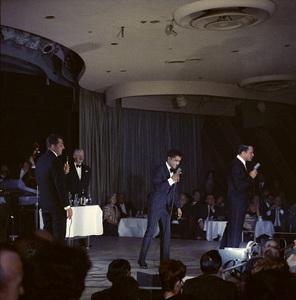 Frank Sinatra, Dean Martin and Sammy Davis Jr. performingcirca 1960 © 1978 Ted Allan - Image 0337_2403