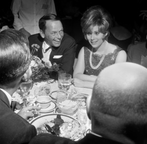 Frank Sinatra and Jill St. Johncirca 1964 © 1978 David Sutton - Image 0337_2405