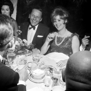 Frank Sinatra and Jill St. Johncirca 1964 © 1978 David Sutton - Image 0337_2406
