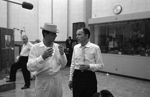 Frank Sinatra and Dean Martincirca 1960 © 1978 Bernie Abramson - Image 0337_2413