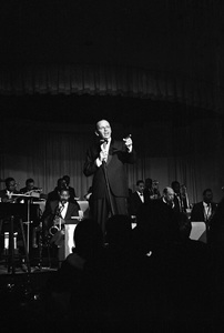 Frank Sinatra performing at The Sands Hotel in Las Vegas, Nevada1964 © 1978 David Sutton - Image 0337_2420