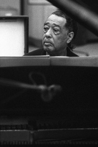 Duke Ellington at a 1967 Reprise recording session with Frank Sinatra © 1978 Ed Thrasher - Image 0337_2425