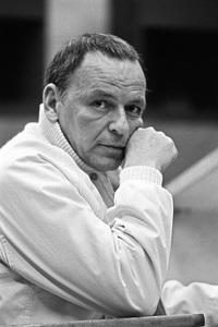 Frank Sinatra at a recording session1969 © 1978 Ed Thrasher - Image 0337_2432