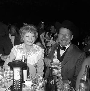 """Share Party""Lucille Ball, Jimmy Van Heusencirca 1962 © 1978 David Sutton - Image 0337_2439"