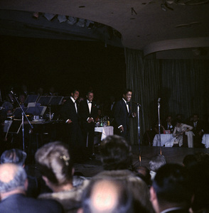 Frank Sinatra, Dean Martin and Sammy Davis Jr. performingcirca 1960 © 1978 Ted Allan - Image 0337_2445