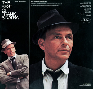 """""""The Best of Frank Sinatra"""" (Album Cover)Frank SinatraPhotos by Sid Avery - Image 0337_2463"""