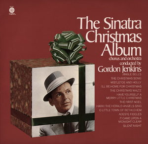"""The Sinatra Christmas Album"" (Album Cover)Frank SinatraPhoto by Sid Avery - Image 0337_2464"