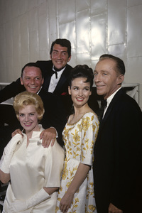 Frank Sinatra with Rosemary Clooney, Dean Martin, Kathryn Grant and Bing Crosby1963 © 1978 Gene Trindl - Image 0337_2471