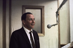 Frank Sinatra at a Reprise recording session1966 © 1978 Ed Thrasher - Image 0337_2473