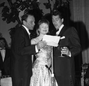 Frank Sinatra, Shirley MacLaine and Dean Martin1959** I.V. - Image 0337_2498
