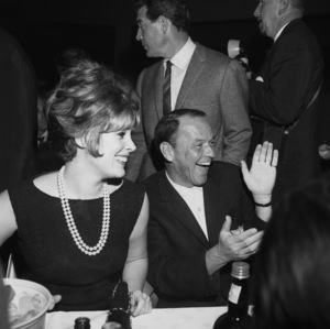 Frank Sinatra and Jill St. John1963** I.V. - Image 0337_2500
