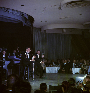 Frank Sinatra, Dean Martin and Sammy Davis Jr. performingcirca 1960 © 1978 Ted Allan - Image 0337_2525
