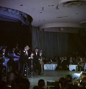 Frank Sinatra, Dean Martin and Sammy Davis Jr. performingcirca 1960 © 1978 Ted Allan - Image 0337_2525