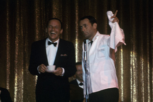 Frank Sinatra and Joey Bishop1962 © 1978 Ted Allan - Image 0337_2570