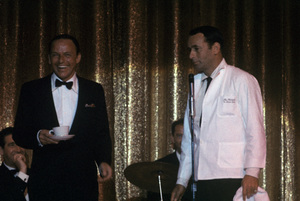 Frank Sinatra and Joey Bishop1962 © 1978 Ted Allan - Image 0337_2571