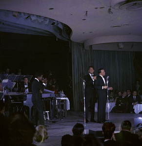 Frank Sinatra, Dean Martin and Sammy Davis Jr. performingcirca 1960 © 1978 Ted Allan - Image 0337_2577