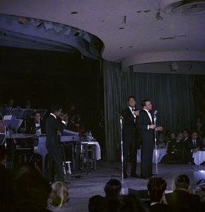 Frank Sinatra, Dean Martin and Sammy Davis Jr. performingcirca 1960 © 1978 Ted Allan - Image 0337_2577