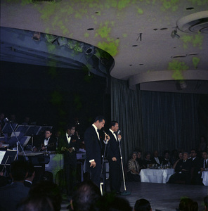 Frank Sinatra, Dean Martin and Sammy Davis Jr. performingcirca 1960 © 1978 Ted Allan - Image 0337_2580