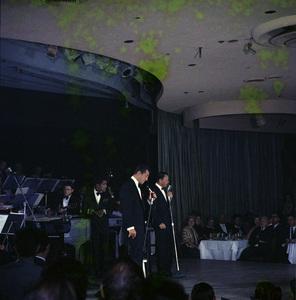 Frank Sinatra, Dean Martin and Sammy Davis Jr. performingcirca 1960 © 1978 Ted Allan - Image 0337_2580