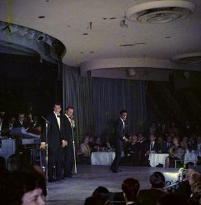 Frank Sinatra, Dean Martin and Sammy Davis Jr. performingcirca 1960 © 1978 Ted Allan - Image 0337_2582