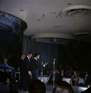 Frank Sinatra, Dean Martin and Sammy Davis Jr. performingcirca 1960 © 1978 Ted Allan - Image 0337_2585