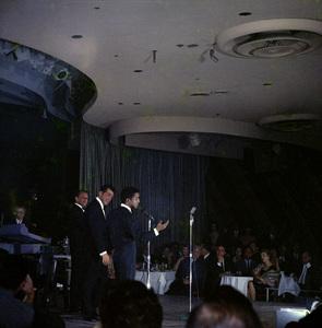 Frank Sinatra, Dean Martin and Sammy Davis Jr. performingcirca 1960 © 1978 Ted Allan - Image 0337_2585