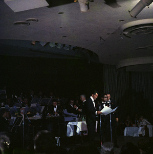 Frank Sinatra, Dean Martin and Sammy Davis Jr. performingcirca 1960 © 1978 Ted Allan - Image 0337_2586