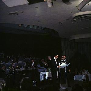 Frank Sinatra, Dean Martin and Sammy Davis Jr. performingcirca 1960 © 1978 Ted Allan - Image 0337_2586