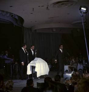 Frank Sinatra, Dean Martin and Sammy Davis Jr. performingcirca 1960 © 1978 Ted Allan - Image 0337_2587