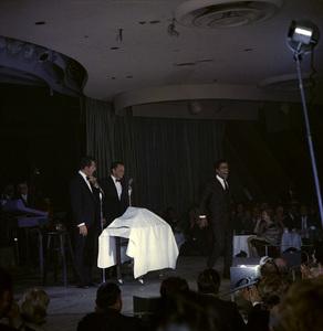 Frank Sinatra, Dean Martin and Sammy Davis Jr. performingcirca 1960 © 1978 Ted Allan - Image 0337_2587